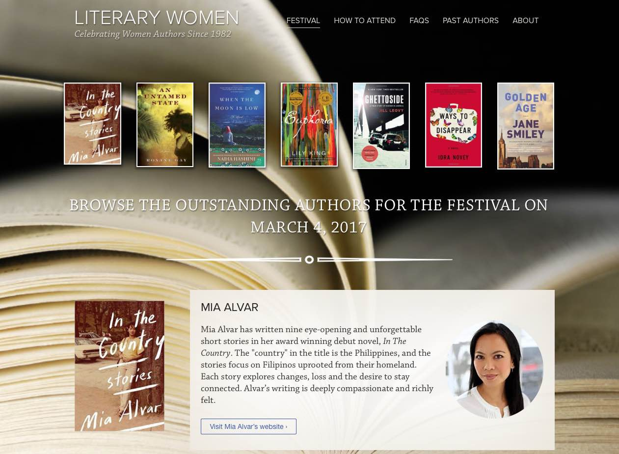 Literary Women website